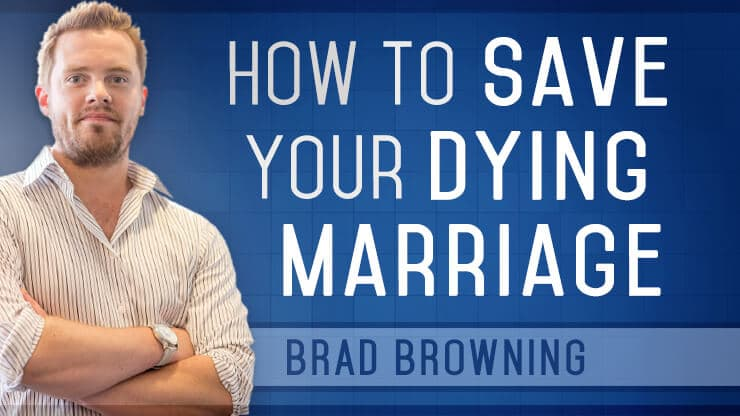 How to save your dying marriage