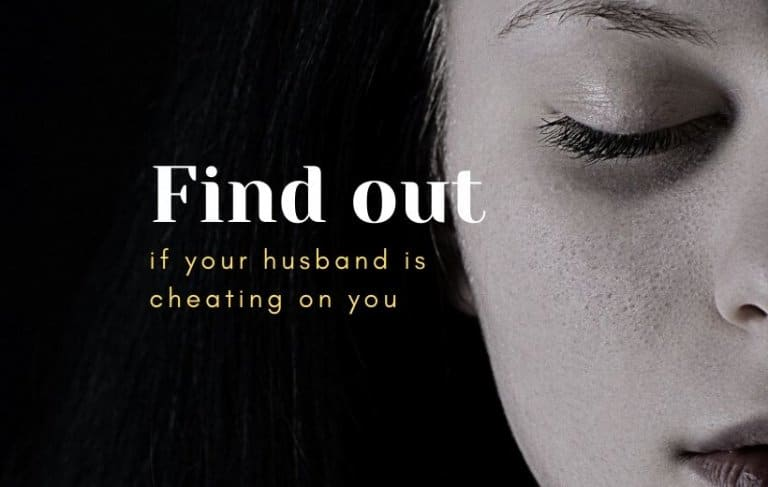 signs husband is cheating