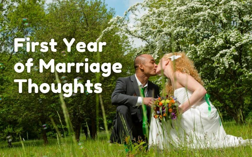 what to expect your first year of marriage